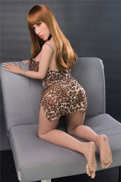 156cm(5ft1') G-cup transsexuals  lady -boy real sex dolls-Colalee