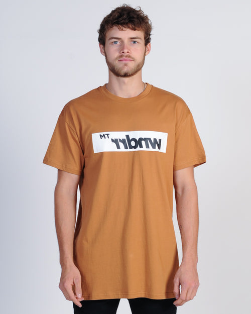 Wndrr Departure Custom Fit Tee - Almond