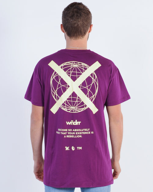 Wndrr Insurgent Custom Fit Tee - Grape