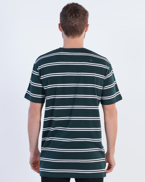 Silent Theory Peg Strike Tee - Bottle Green