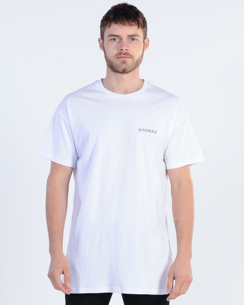 Wndrr Treats Custom Fit Tee - White