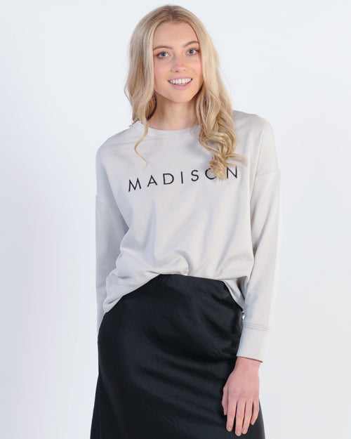 Madison Sweater - Grey