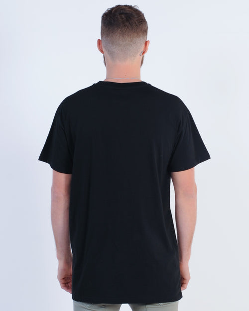 Wndrr Split Accent Custom Fit Tee - Black