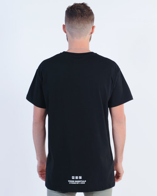 Wndrr Mode Custom Fit Tee - Black