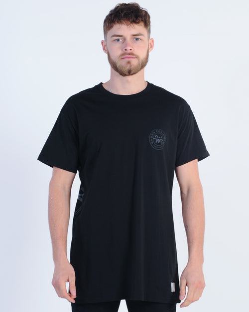 Wndrr Clutch Custom Fit Tee - Black
