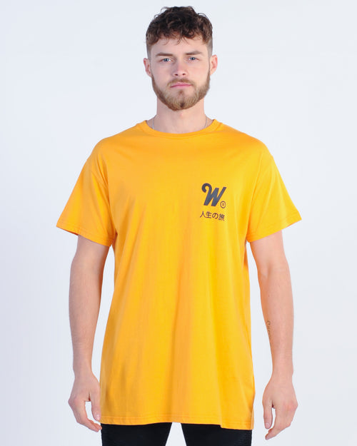 Wndrr Capital Custom Fit Tee - Yellow