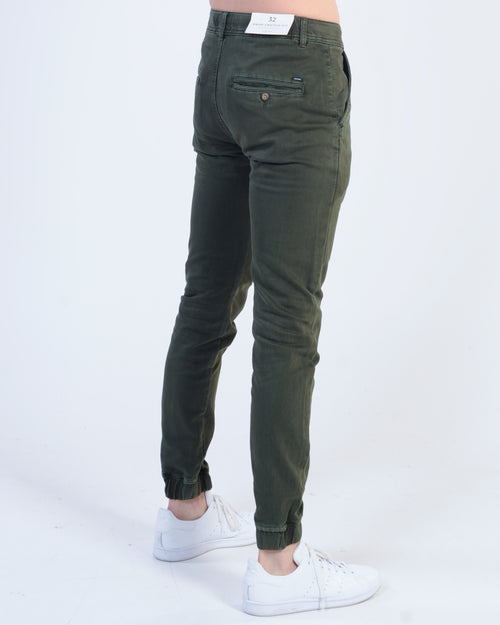 Industrie Drifter Chino Pant - Army Green