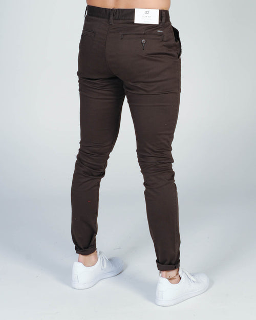 Industrie Cuba Chino Pant - Dark Forest