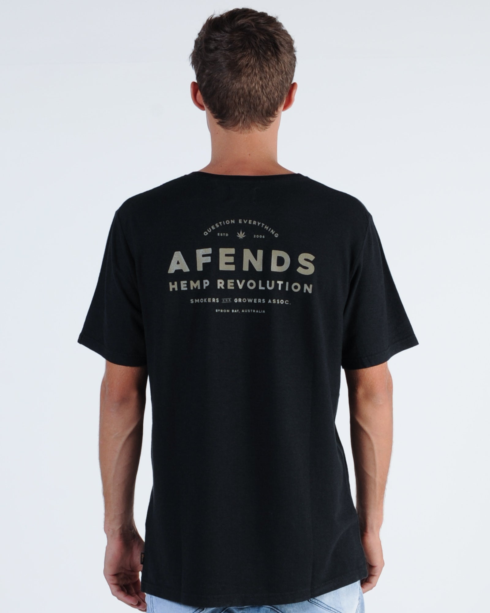 Afends Association Hemp Tee - Black
