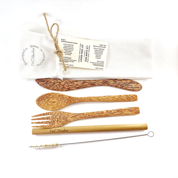 Wooden Coconut Cutlery