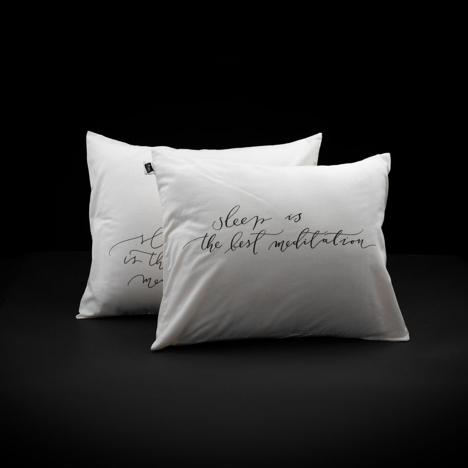Hello Pilli - Calligraphed pillow-cases