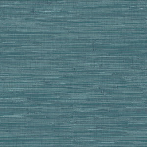 Navy Grassweave Peel & Stick Wallpaper-faux grasscloth rich navy hue and intricate woven design