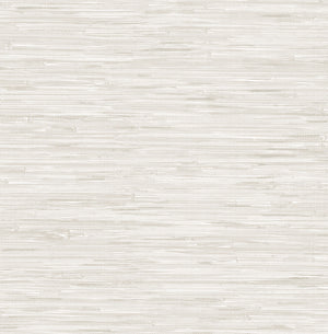 Cream Grassweave Peel & Stick Wallpaper-resembles cream grasscloth wallpaper.