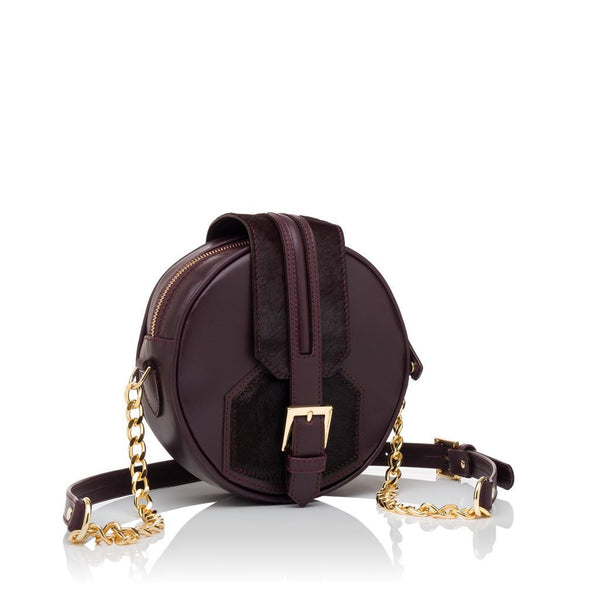 Leelee Burgundy - Womens Handbags