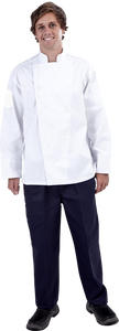 Sew Down Button Chef Jacket