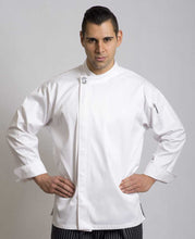 Load image into Gallery viewer, Modern White Long Sleeve Chef Jacket