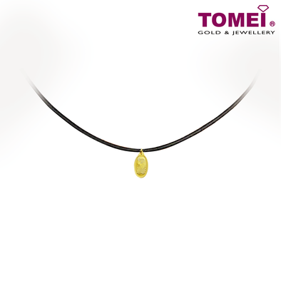 "[Online Exclusive] Tomei x PAMP Suisse Yellow Gold 9999 (24K) ""Lady Fortuna"" Pendant 1.15 Grams + Complimentary Rope Necklace (PSC-R-1G)"