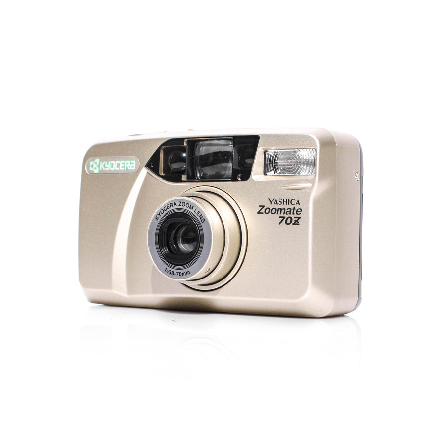YASHICA Zoomate 70Z 38-70mm Point and Shoot Film Camera