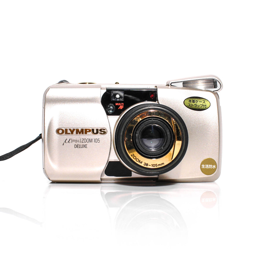 OLYMPUS µ[Mju:] Stylus Zoom 105 Deluxe Point and Shoot Film Camera #5780327