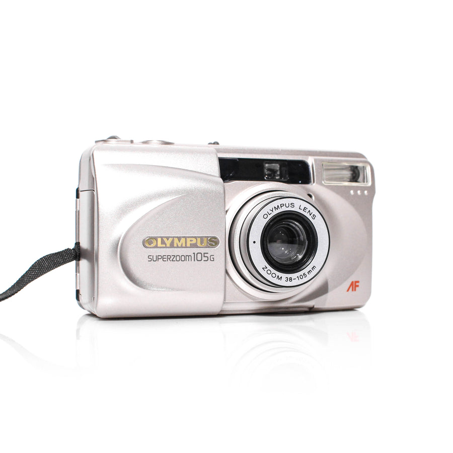 OLYMPUS Superzoom 105G 38-105mm Point and Shoot Film Camera