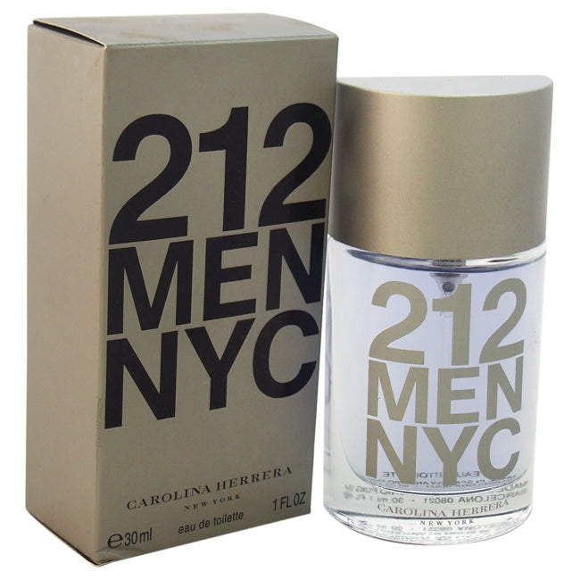 212 by Carolina Herrera EDT Spray for Men 1oz
