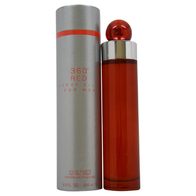 360 Red by Perry Ellis EDT Spray for Men 6.8oz