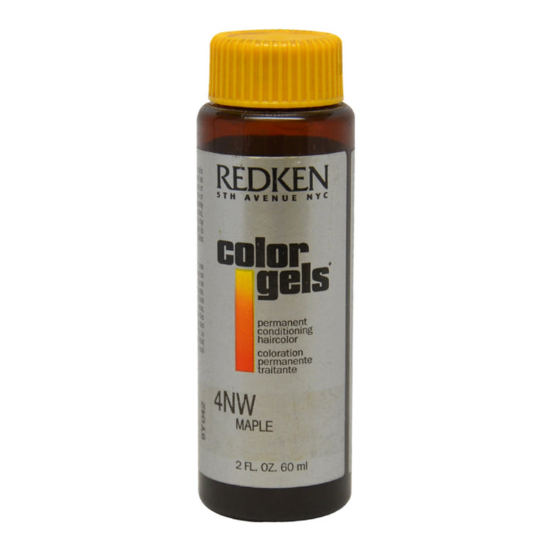 Redken Color Gels Permanent Conditioning Hair Color l 4NW Maple