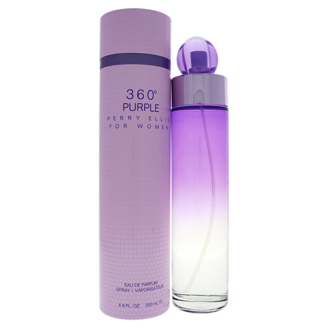 360 Purple by Perry Ellis EDP Spray for Women 6.8oz