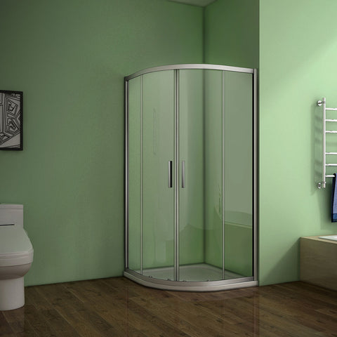 760-900mmx1850mm Quadrant Shower Enclosure