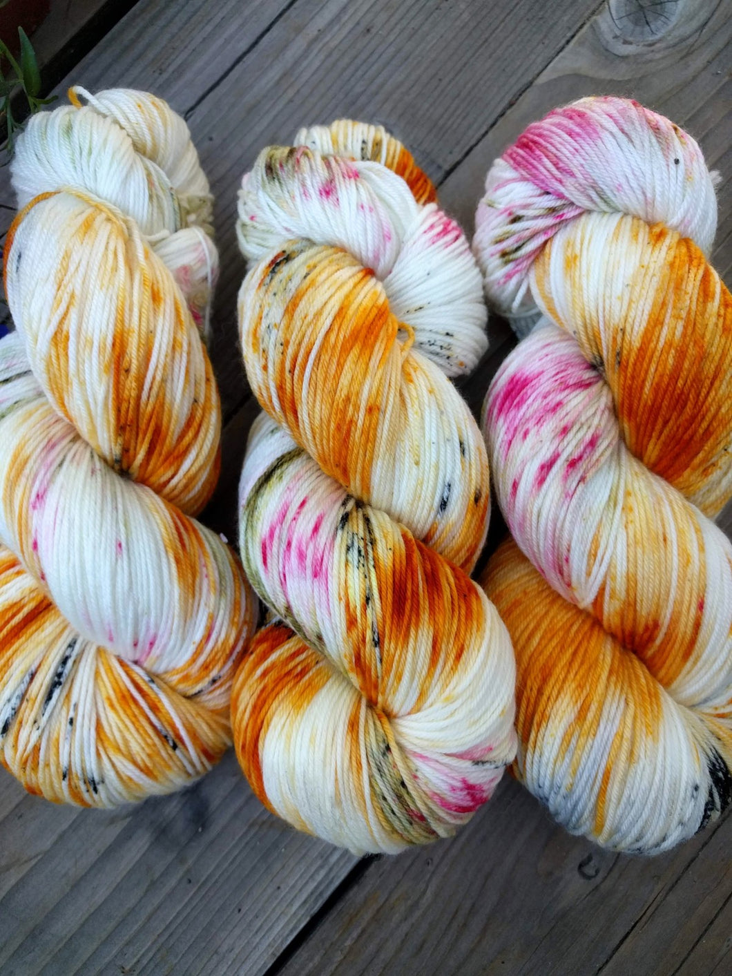 MONARCH & MILKWEED- Merino Twist