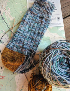 PACIFIC CREST TRAIL with Kiavah Wilderness- sock kit
