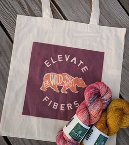 Lightweight Tote - Grizzly Bear Bag