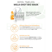 Repiel Timeless Mela-Shot Bio Mask - Face Mask