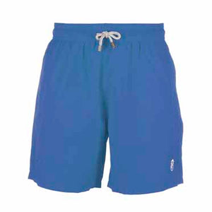 Blue Plain - Men's Designer Swim Shorts - Front