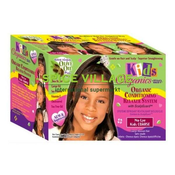 Africa Best Kids Organic Relaxer Kit Super