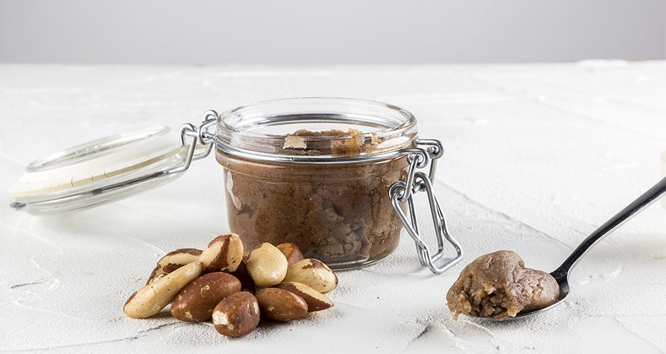 Brazil Nut Butter - Organic, Raw, Sprouted, Stoneground