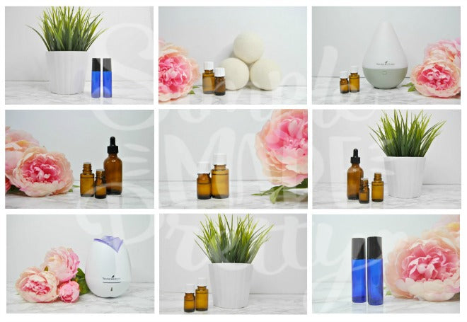 Essential Oils Styled Stock Photos {9 Photos}