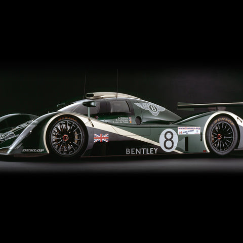 Bentley Speed 8, Side View by Rick Graves