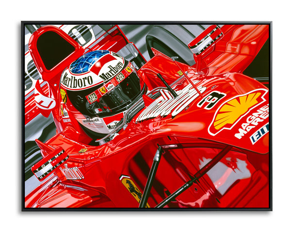 Michael Schumacher, Seeing Red by Colin Carter