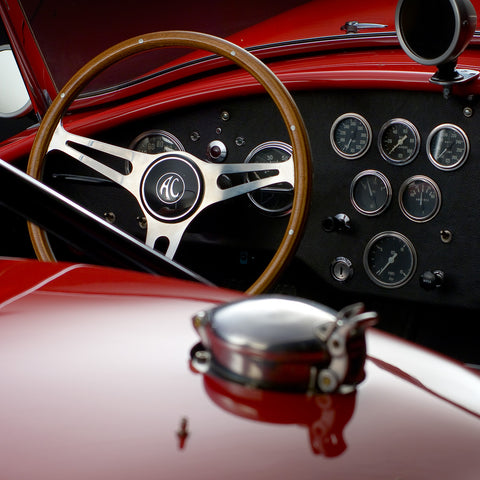 Shelby Cobra CSX 2430 Dashboard Detail by Boyd Jaynes
