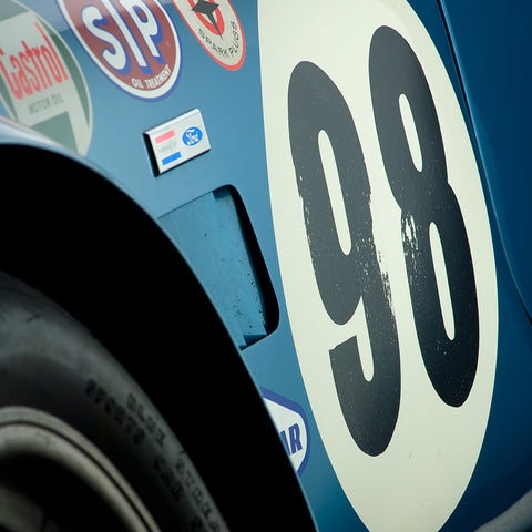 Shelby Cobra CSX 2431 Side Detail by Boyd Jaynes