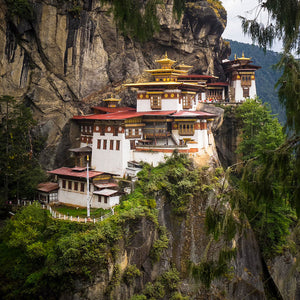 Tigers Nest, Buddhist Temple, Bhutan, by Robert Ross