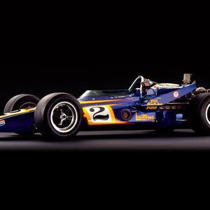 Parnelli Jones, Johnny Lightning, Side View by Rick Graves
