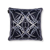 Luxury Velvet Bit Pillow - Midnight Grey