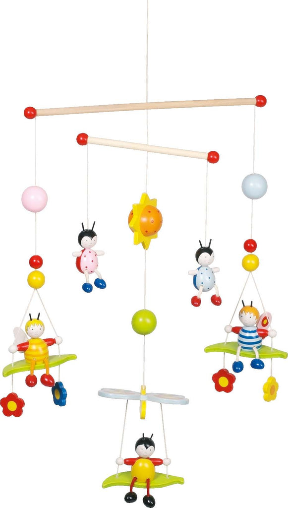 childrens hanging 3D Bees and Beetles Mobile