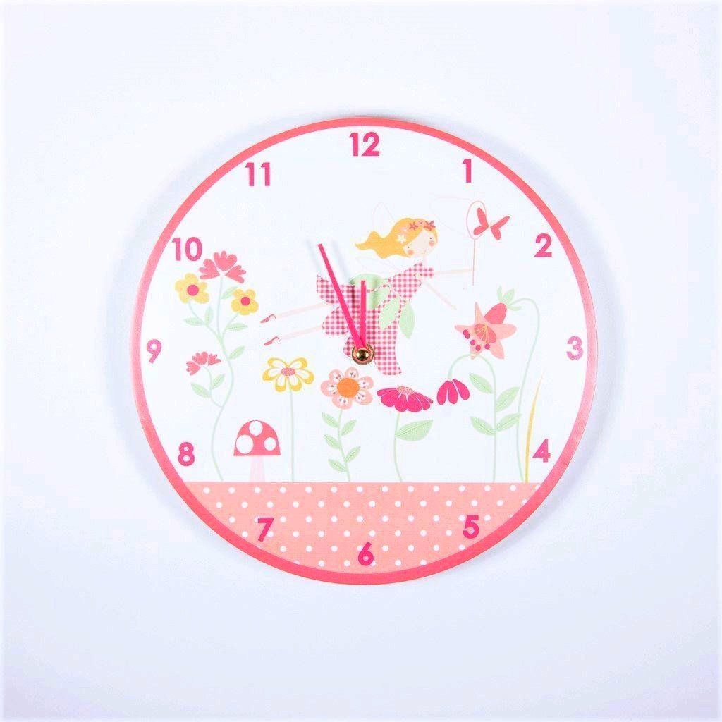 children's fairy wall clock