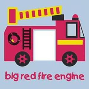 childrens fire engine light switch cover