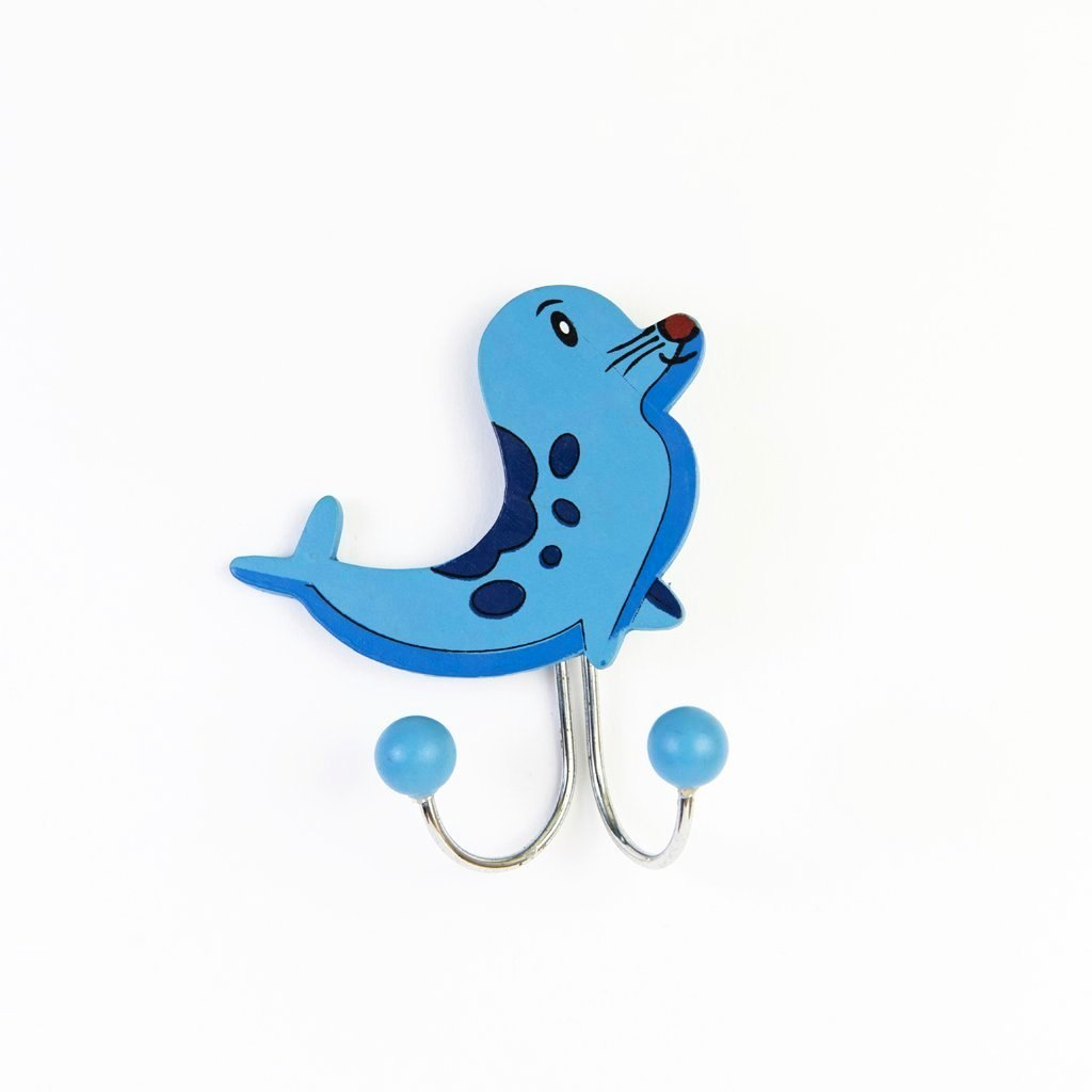 children's seal wall hook