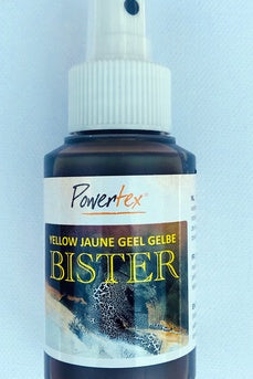 Powertexcreations - Bister Yellow - liquid in spray bottle 100ml