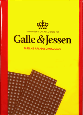 Galle & Jessen Milk Chocolate Plates - NordicExpatShop